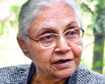 Sheila Dikshit new Delhi Congress chief