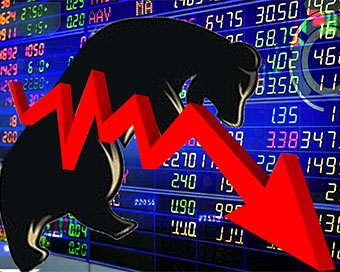 Sensex down 500 points; banking, finance stocks fall