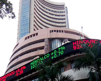 Equity indices pare initial gains, Sensex down 170 points
