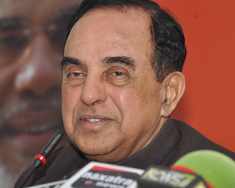 Commence Ram Temple construction now, Swamy urges PM