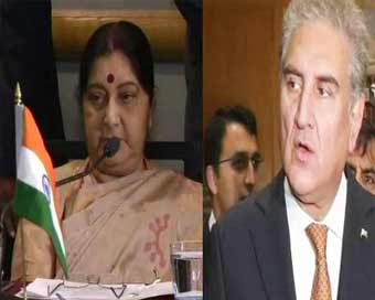 Sushma Swaraj warns of terrorism threat at Saarc meeting, avoids Qureshi