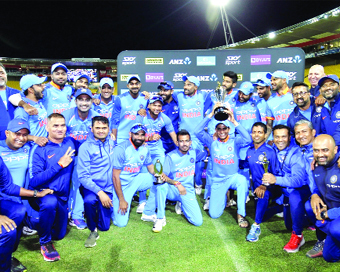 India beat New Zealand in 5th ODI, win series 4-1