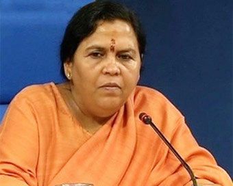 My part in defeating Digvijaya already done: Uma Bharti
