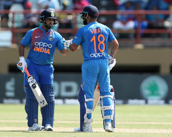 Kohli, Pant score fifties as India complete series sweep