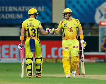 IPL 2020: Faf and Watson create history as CSK regain touch with big win over KXIP