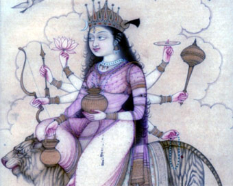 Goddess Kushmanda worshiped on 4th day