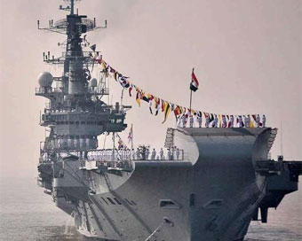 PHOTOS: INS Viraat sails into history