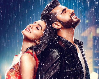 Arjun, Shraddha in 'Half Girlfriend' first poster