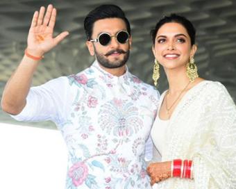 Deepika shares glimpse of Ranveer