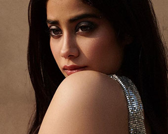 Janhvi Kapoor shines bright in her latest photoshoot