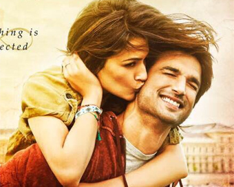 'Raabta' first look: Sushant, Kirti look adorable