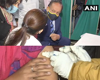 In Photos: India's massive COVID-19 vaccination dry run