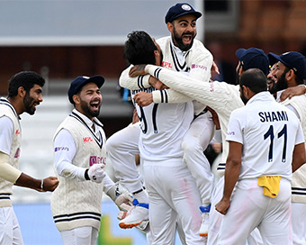 Pictures: India win historic Lord