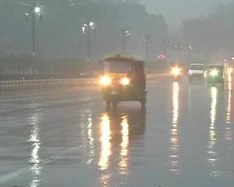 Rain lashes Delhi-NCR; hailstorm likely