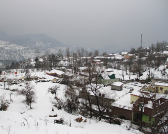 Temperatures remain below freezing point in J&K