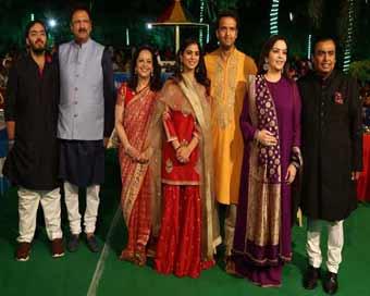 Isha Ambani-Anand Piramal wedding ceremonies start