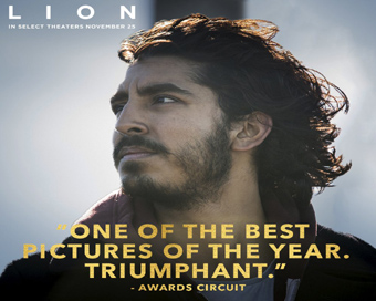Dev Patel earns Oscar nomination for Lion