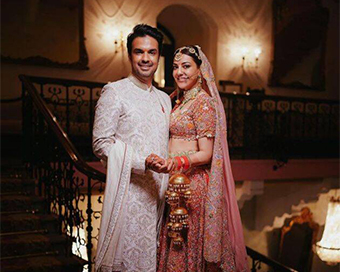Photos: Kajal Aggarwal and Gautam Kitchlu's fairytale wedding