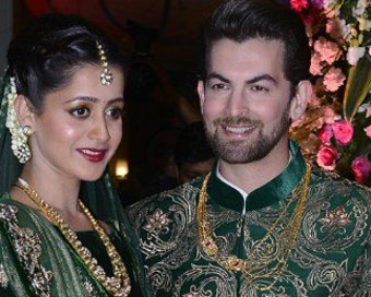 Neil-Rukmini wedding reception was a starry affair