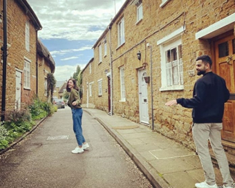 Anushka Sharma shares unseen photos with Virat Kohli from England