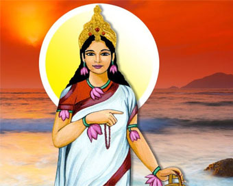 Goddess Brahmacharini worshiped on Day 2