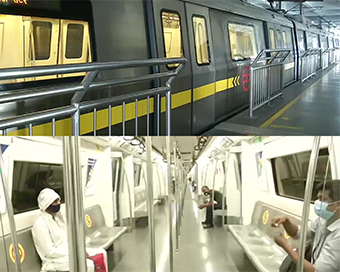 Metro train services resume across country after 5 months