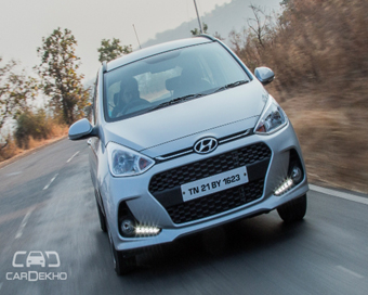 Pics; Hyundai Xcent Facelift Coming This Month