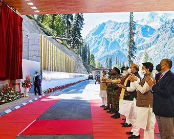 In pictures: PM Modi inagurates Atal Tunnel