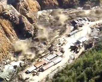 Photos: Uttarakhand glacier blast