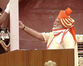 74th Independence Day: PM Modi unfurls tricolour at Red Fort
