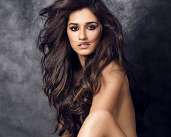 Disha Patni topless for Daboo Ratnani