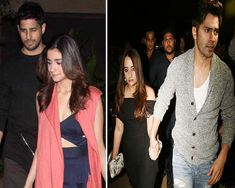 B-town couples grace Shahid