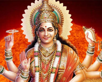 Goddess Chandraghanta worshiped on Day 3