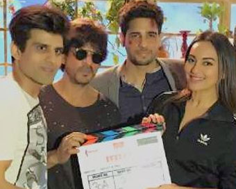 Ittefaq shoot begins with Shah Rukh Khan