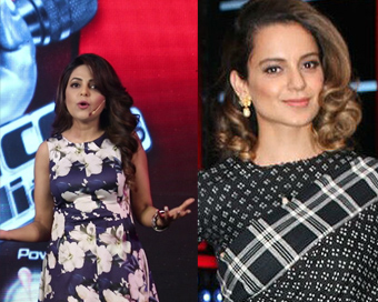 When Kangana felt like slapping Sugandha Mishra