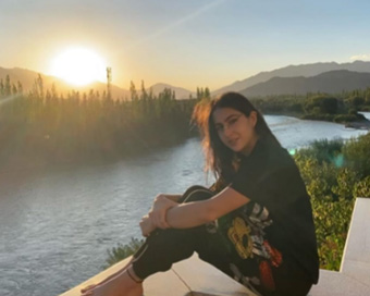 Sara Ali Khan is enjoying Ladakh's picturesque beauty to the fullest. See pictures!