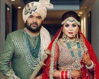 Kapil Sharma, Ginni Chatrath marry in Jalandhar