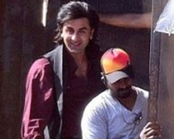 Ranbir's look from Sanjay Dutt's biopic leaked