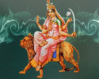 Goddess Katyayani Mata worshiped on Sixth day