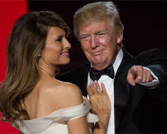 Donald Trump, Melania perform first dance