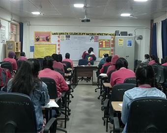 Delhi schools open after 10 months (PHOTOS)